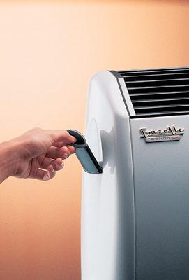 Обогреватели Gazelle Techno от FONDITAL имеют боковой увлажнитель воздуха...